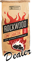 American Barbeque Systems is a Rockwood Lump Charcoal Dealer
