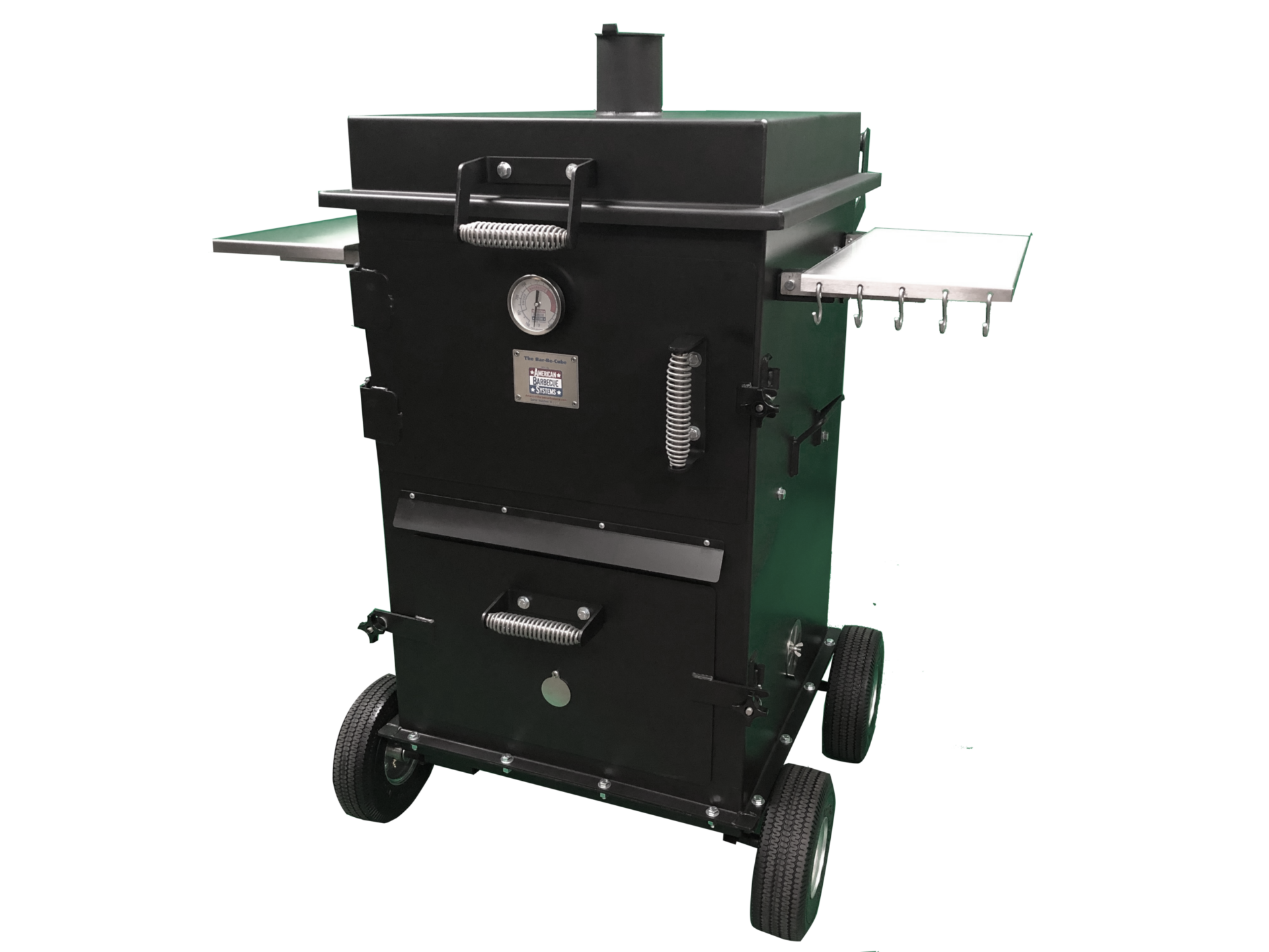 The American Barbeque Systems Bar-Be-Cube Smoker/Grill